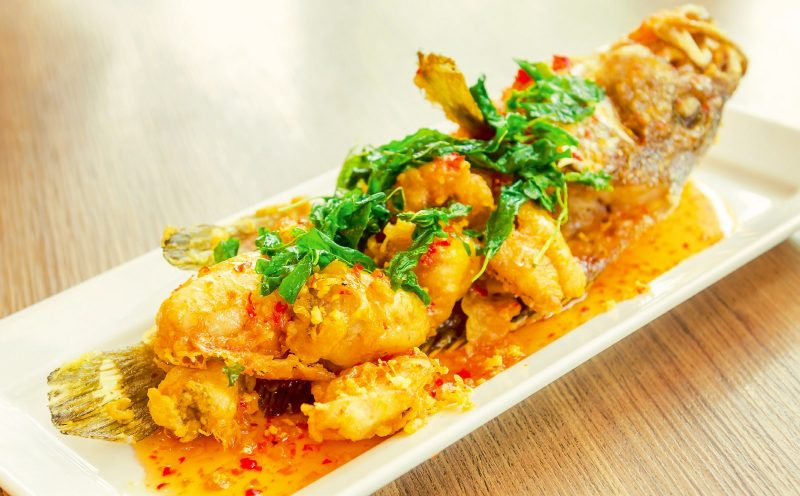 resipi ikan kerapu masak masam manis resepi sotong masam manis berkuah pekat Resepi Ikan Kukus Tomyam Enak dan Mudah